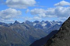 Κορυφογραμμές του Καύκασου. Στοκ εικόνες με δικαίωμα ελεύθερης χρήσης