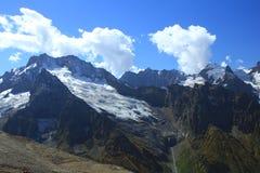 Κορυφογραμμές του Καύκασου. Στοκ Εικόνα