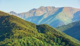Κορυφογραμμή βουνών Fagaras το απόγευμα στοκ εικόνα με δικαίωμα ελεύθερης χρήσης