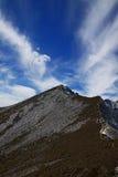 Κορυφογραμμή ενός λόφου στοκ εικόνες