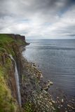 κορυφογραμμή Σκωτία νησιών skye trotternish στοκ φωτογραφία