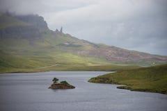 κορυφογραμμή Σκωτία νησιών skye trotternish Στοκ Εικόνες
