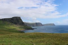 κορυφογραμμή Σκωτία νησιών skye trotternish Στοκ φωτογραφία με δικαίωμα ελεύθερης χρήσης