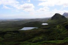 κορυφογραμμή Σκωτία νησιών skye trotternish Στοκ Εικόνα