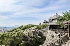 Κορυφογραμμή του Ματσουγιάμα Castle - Iyo στοκ φωτογραφίες