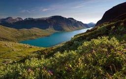 Κορυφογραμμή Bessegen, Νορβηγία Στοκ εικόνες με δικαίωμα ελεύθερης χρήσης