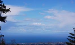 Κορυφογραμμή Hericane Στοκ Εικόνες