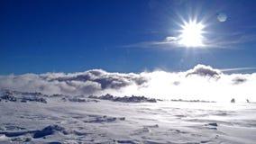 Κορυφογραμμή Krkonose Στοκ Φωτογραφίες