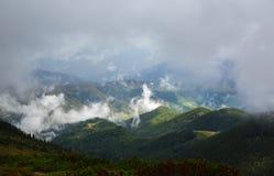 Κορυφογραμμή Marmarosy Στοκ Φωτογραφία