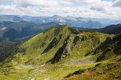 Κορυφογραμμή Marmarosy Στοκ φωτογραφία με δικαίωμα ελεύθερης χρήσης