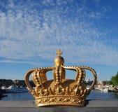 κορώνα Στοκχόλμη Στοκ φωτογραφία με δικαίωμα ελεύθερης χρήσης