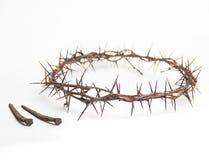 Κορώνα των αγκαθιών Ιησούς Χριστός στοκ εικόνα