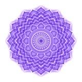 Κορώνα Chakra που απομονώνεται Διανυσματική απεικόνιση