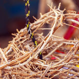 Κορώνες των αγκαθιών ως αναμνηστικά της Ιερουσαλήμ Στοκ Φωτογραφίες
