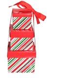 κορδέλλα τρία δώρων κιβωτί& Στοκ Φωτογραφία