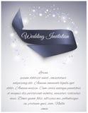 Κορδέλλα γαμήλιου σατέν Στοκ Εικόνα