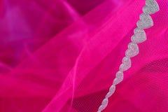 Κορδέλλα καρδιών Στοκ εικόνες με δικαίωμα ελεύθερης χρήσης