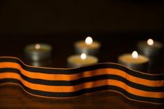 Κορδέλλα του ST George ` s της νίκης Στοκ φωτογραφίες με δικαίωμα ελεύθερης χρήσης
