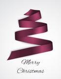 Κορδέλλα Χριστουγέννων Στοκ φωτογραφίες με δικαίωμα ελεύθερης χρήσης
