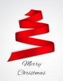 Κορδέλλα Χριστουγέννων Στοκ Φωτογραφίες