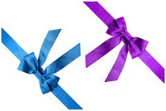 Κορδέλλα δύο χρωμάτων Στοκ εικόνες με δικαίωμα ελεύθερης χρήσης