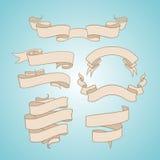 Κορδέλλες δερματοστιξιών καθορισμένες Στοκ Φωτογραφίες