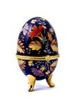 κοσμήματα αυγών κιβωτίων Στοκ εικόνα με δικαίωμα ελεύθερης χρήσης