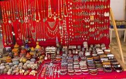 Κοσμήματα για την πώληση στο στάβλο Στοκ φωτογραφία με δικαίωμα ελεύθερης χρήσης