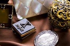 κοσμήματα κιβωτίων Στοκ Φωτογραφίες