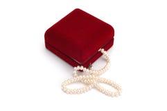 κοσμήματα κιβωτίων Στοκ Φωτογραφία