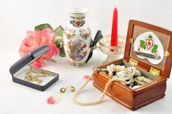 κοσμήματα λουλουδιών Στοκ Εικόνες
