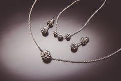 Κοσμήματα νυφών Στοκ εικόνα με δικαίωμα ελεύθερης χρήσης