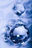 κοσμήματα πολύτιμων λίθων διαμαντιών Στοκ Φωτογραφία