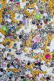 Κοσμήματα στον τοίχο Στοκ εικόνες με δικαίωμα ελεύθερης χρήσης