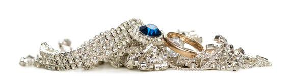 Κοσμήματα Shinny, που απομονώνονται στοκ φωτογραφία με δικαίωμα ελεύθερης χρήσης