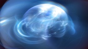 Κοσμικός Fractal του //1080p ανωμαλίας μυστήριος βρόχος υποβάθρου ομορφιάς τηλεοπτικός απεικόνιση αποθεμάτων