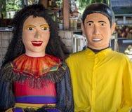 Κοστούμια καρναβαλιού Στοκ εικόνες με δικαίωμα ελεύθερης χρήσης