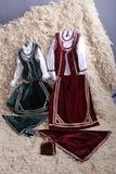κοστούμια παραδοσιακά Στοκ Εικόνα
