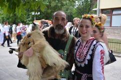 κοστούμια παραδοσιακά Στοκ Φωτογραφίες