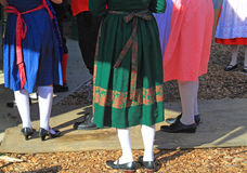 Κοστούμια σε Oktoberfest στοκ εικόνες με δικαίωμα ελεύθερης χρήσης