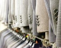 Κοστούμια στο κατάστημα Στοκ Φωτογραφίες