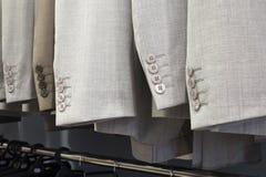 Κοστούμια στο ράφι Στοκ Εικόνες