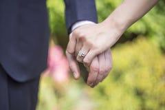 κοστούμι δαχτυλιδιών ατόμων δέσμευσης Στοκ Εικόνα
