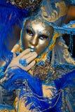 κοστούμι Βενετία καρναβαλιού Στοκ Εικόνες