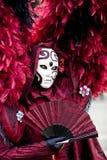 κοστούμι Βενετία καρναβ&al Στοκ Φωτογραφία