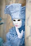 κοστούμι Βενετία καρναβ&al Στοκ Εικόνες