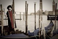 κοστούμι Βενετία καρναβ&al Στοκ φωτογραφίες με δικαίωμα ελεύθερης χρήσης