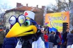 Κοστούμι καρναβαλιού πουλιών γιατρών Στοκ Φωτογραφίες