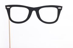 Κοστούμι κόμματος ή διακόσμηση των γυαλιών Στοκ Εικόνες