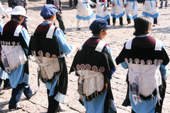 Κοστούμι μειονότητας στην Κίνα Στοκ Εικόνα